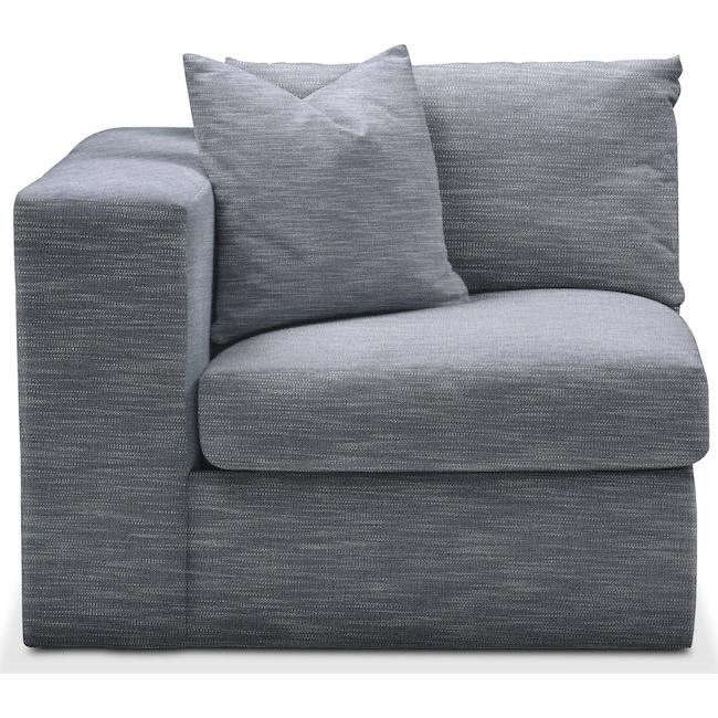 Living Room Furniture - Collin Left Arm Facing Chair- Comfort in Dudley Indigo