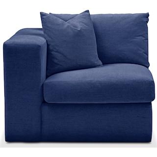 Collin Left Arm Facing Chair- Comfort in Abington TW Indigo