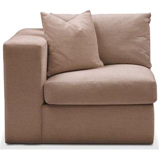 Collin Left Arm Facing Chair- Comfort in Abington TW Antler