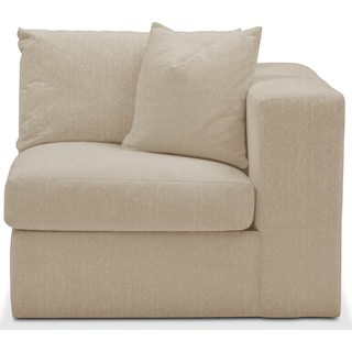 Collin Right Arm Facing Chair- Comfort in Depalma Taupe