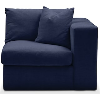 Collin Right Arm Facing Chair- Comfort in Oakley III Ink