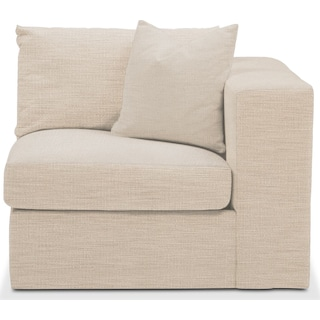 Collin Right Arm Facing Chair- Comfort in Victory Ivory