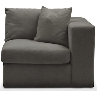 Collin Comfort Right-Facing Chair - Statley L Sterling