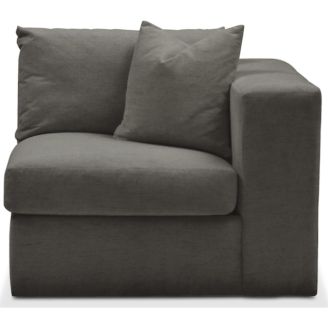 Living Room Furniture - Collin Right Arm Facing Chair- Comfort in Statley L Sterling
