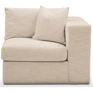 Collin Right Arm Facing Chair- Comfort in Dudley Buff