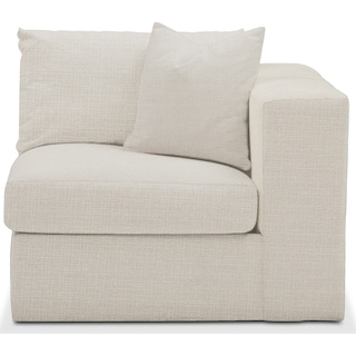 Collin Right Arm Facing Chair- Comfort in Anders Ivory