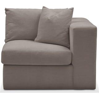Collin Right Arm Facing Chair- Cumulus in Oakley III Granite