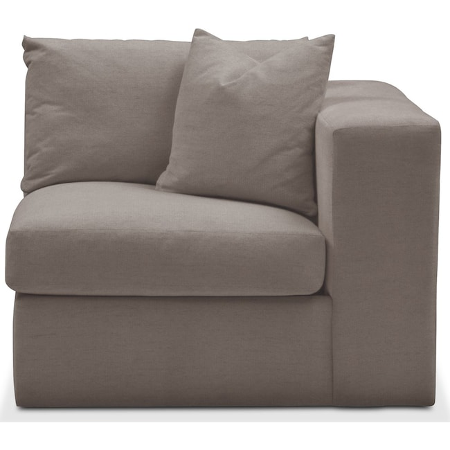 Living Room Furniture - Collin Right Arm Facing Chair- Cumulus in Oakley III Granite