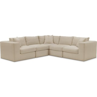 Collin 5 Pc. Sectional - Comfort in Depalma Taupe