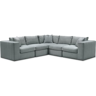Collin 5 Pc. Sectional - Comfort in Abington TW Seven Seas