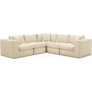 Collin 5 Pc. Sectional - Comfort in Anders Cloud