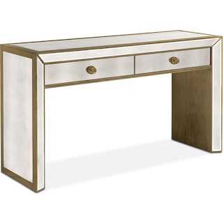 Reflection Sofa Table - Antiqued Mirror