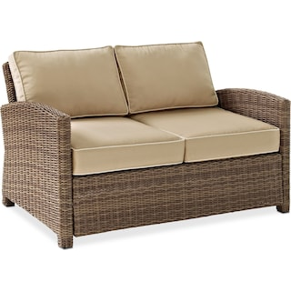 Destin Outdoor Loveseat - Sand