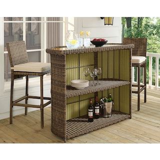 The Destin Outdoor Bar Collection