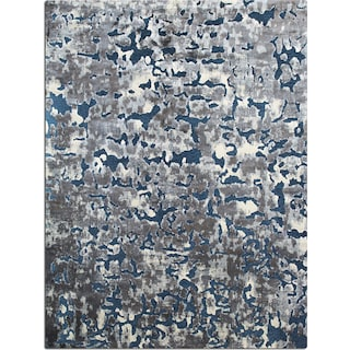 Napa 5' x 8' Area Rug - Blue and Gray