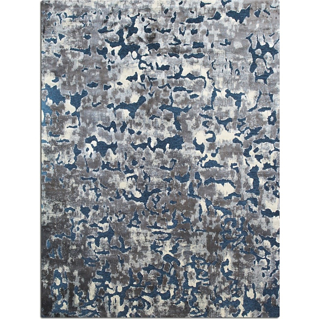 Rugs - Napa Area Rug - Blue and Gray