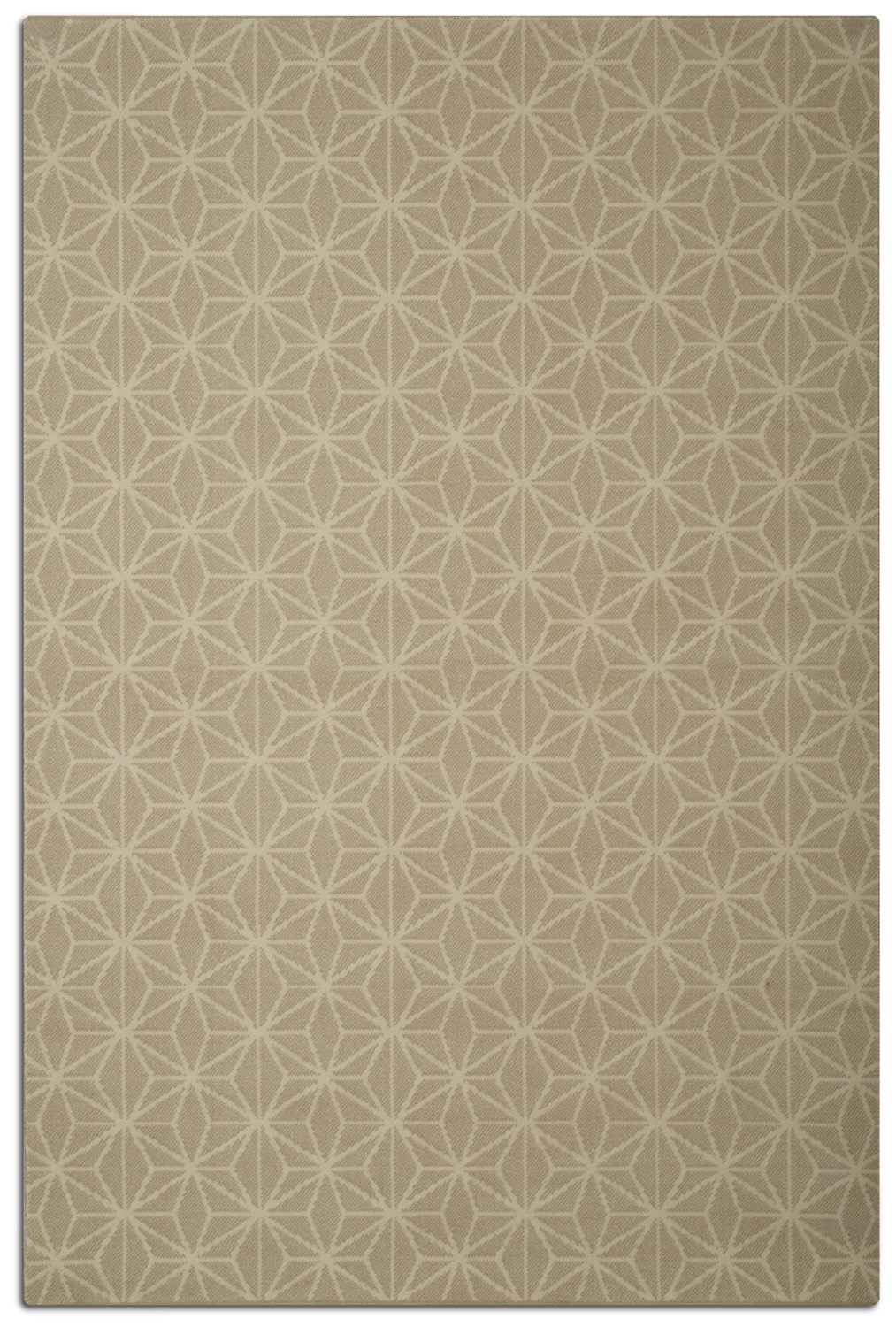 Rugs - Broadway Area Rug - Beige and Ivory