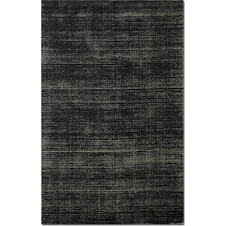 Metallic 9' x 12' Area Rug - Black