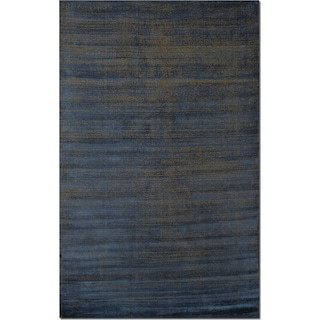 Metallic 9' x 12' Area Rug - Blue