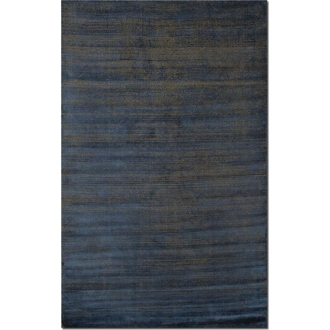 Rugs - Metallic 5' x 8' Area Rug - Blue