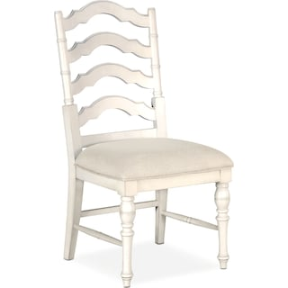 Charleston Side Chair - White