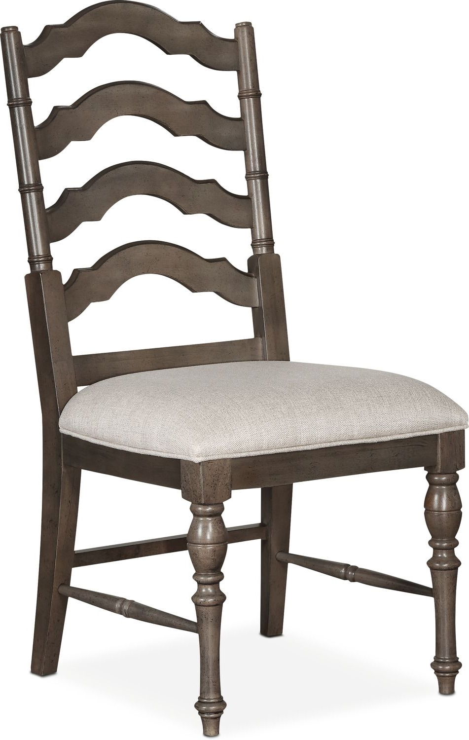 Charleston rectangular dining table and 6 side chairs for Side chairs for dining table