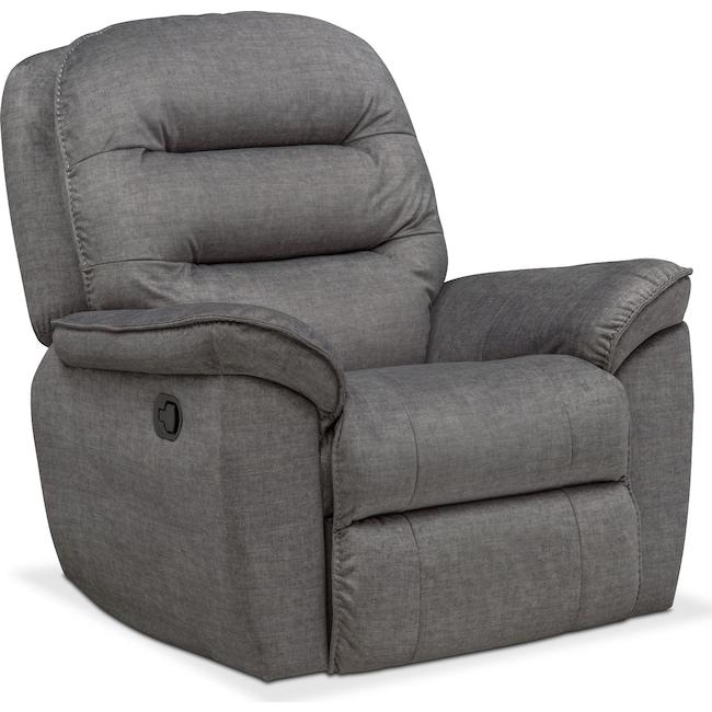 Living Room Furniture - Regis Glider Recliner