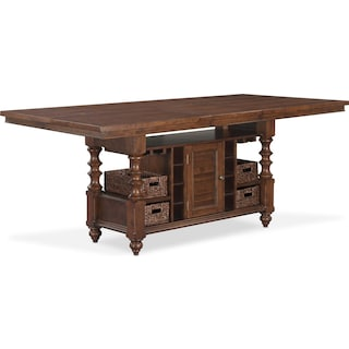 Charleston Counter-Height Dining Table - Tobacco