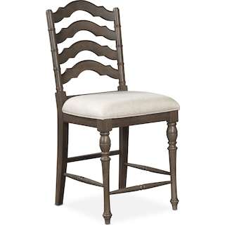 Charleston Counter Height Stool Gray