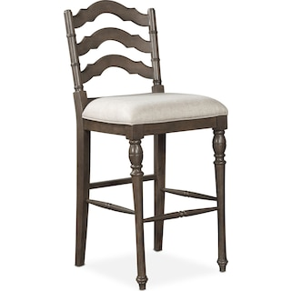 Charleston Barstool Gray