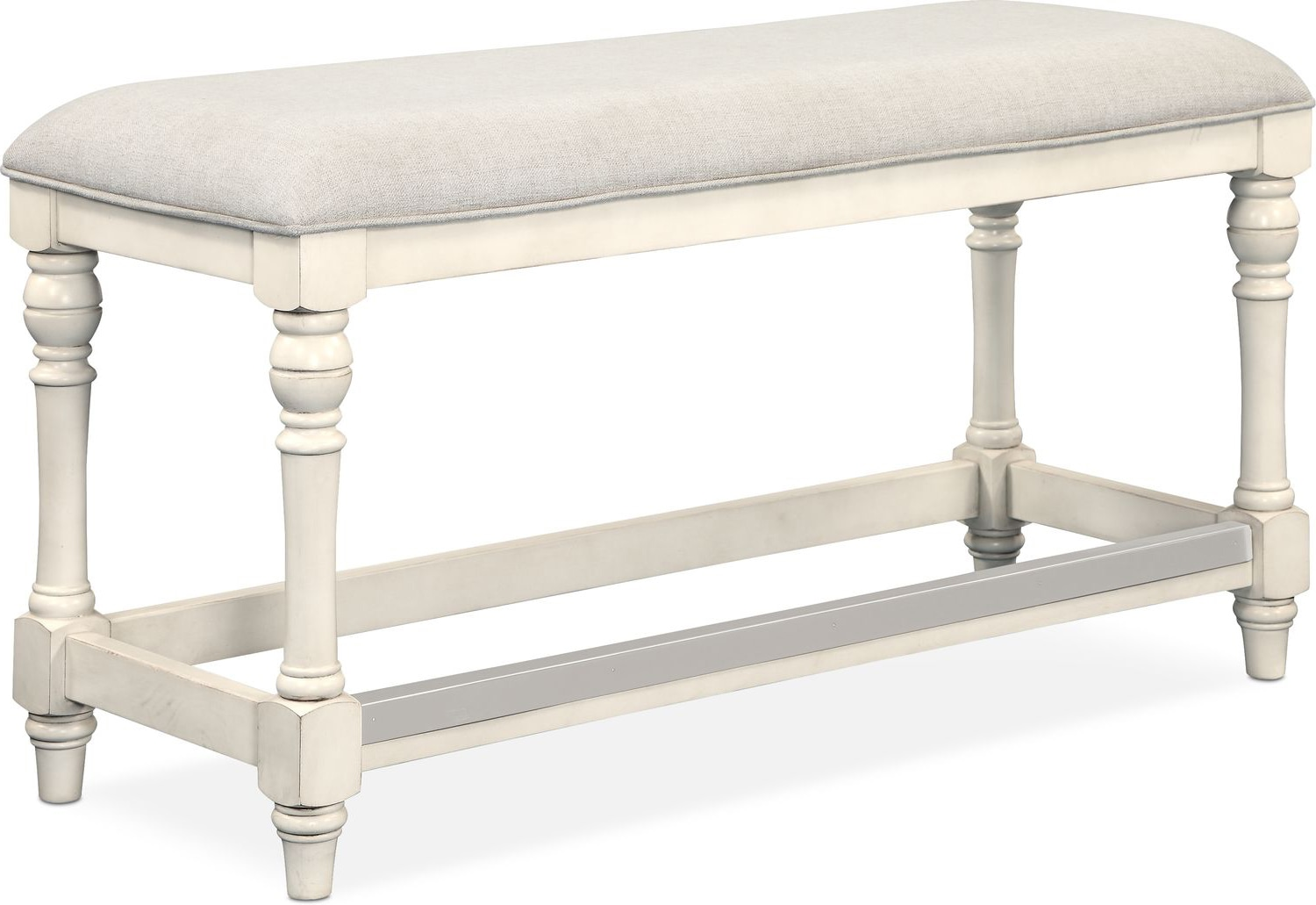 Accent and Occasional Furniture - Charleston Counter-Height Bench