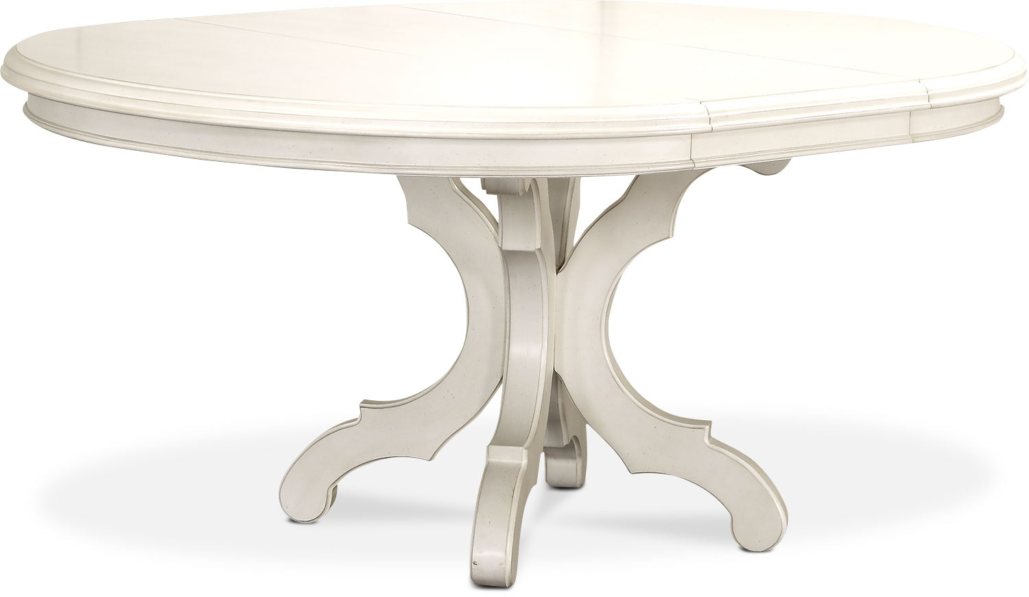Dining Room Furniture   Charleston Round Dining Table   White