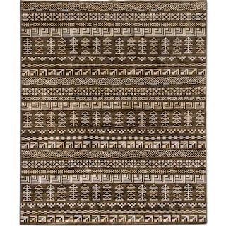 Sonoma 8' x 11' Area Rug - Brown and Ivory