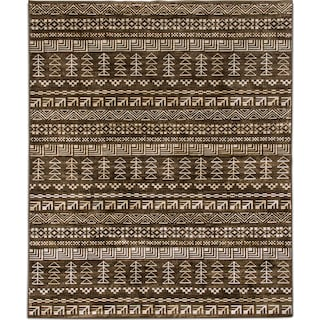 The Sonoma Collection - Brown and Ivory