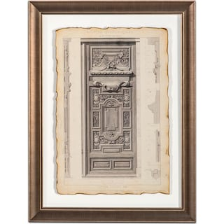 Historical Motif Framed Print III
