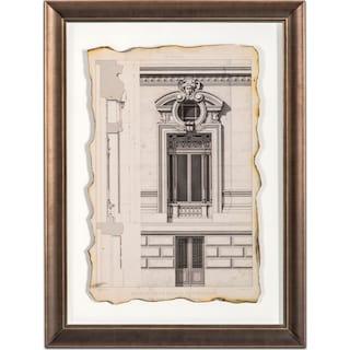Historical Motif Framed Print II