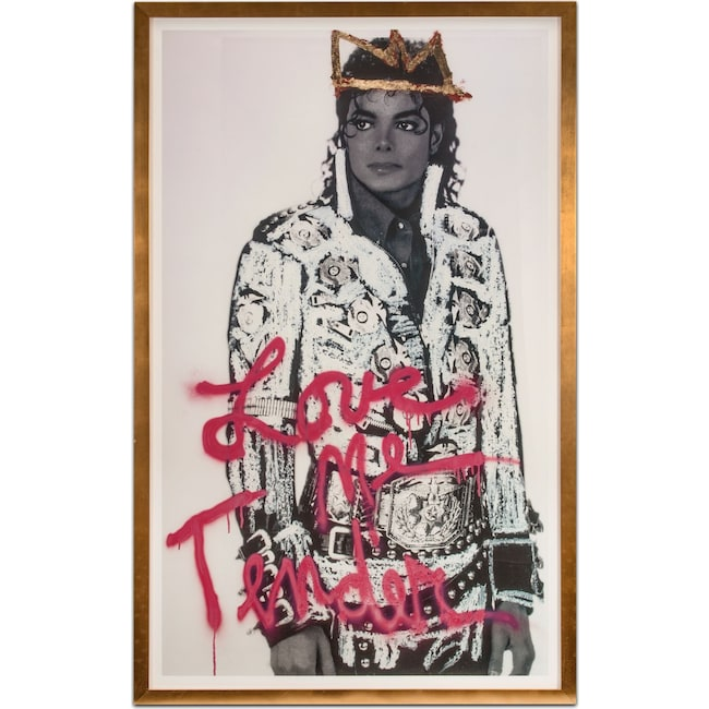 Home Accessories - Michael Jackson Framed Print