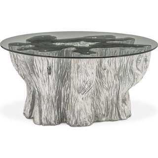 Natura Coffee Table - Silver