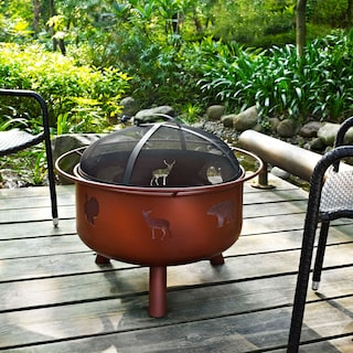Woodbury Fire Pit - Rust