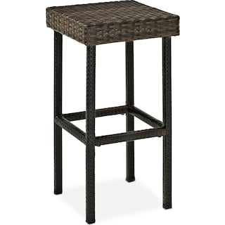 Aldo Outdoor Barstool - Brown