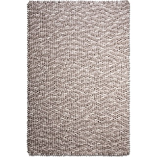 Plush Chamois 8' x 10' Area Rug - Rain Cloud