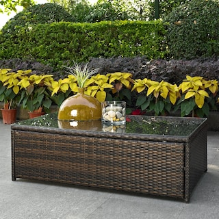 Aldo Outdoor Coffee Table - Brown