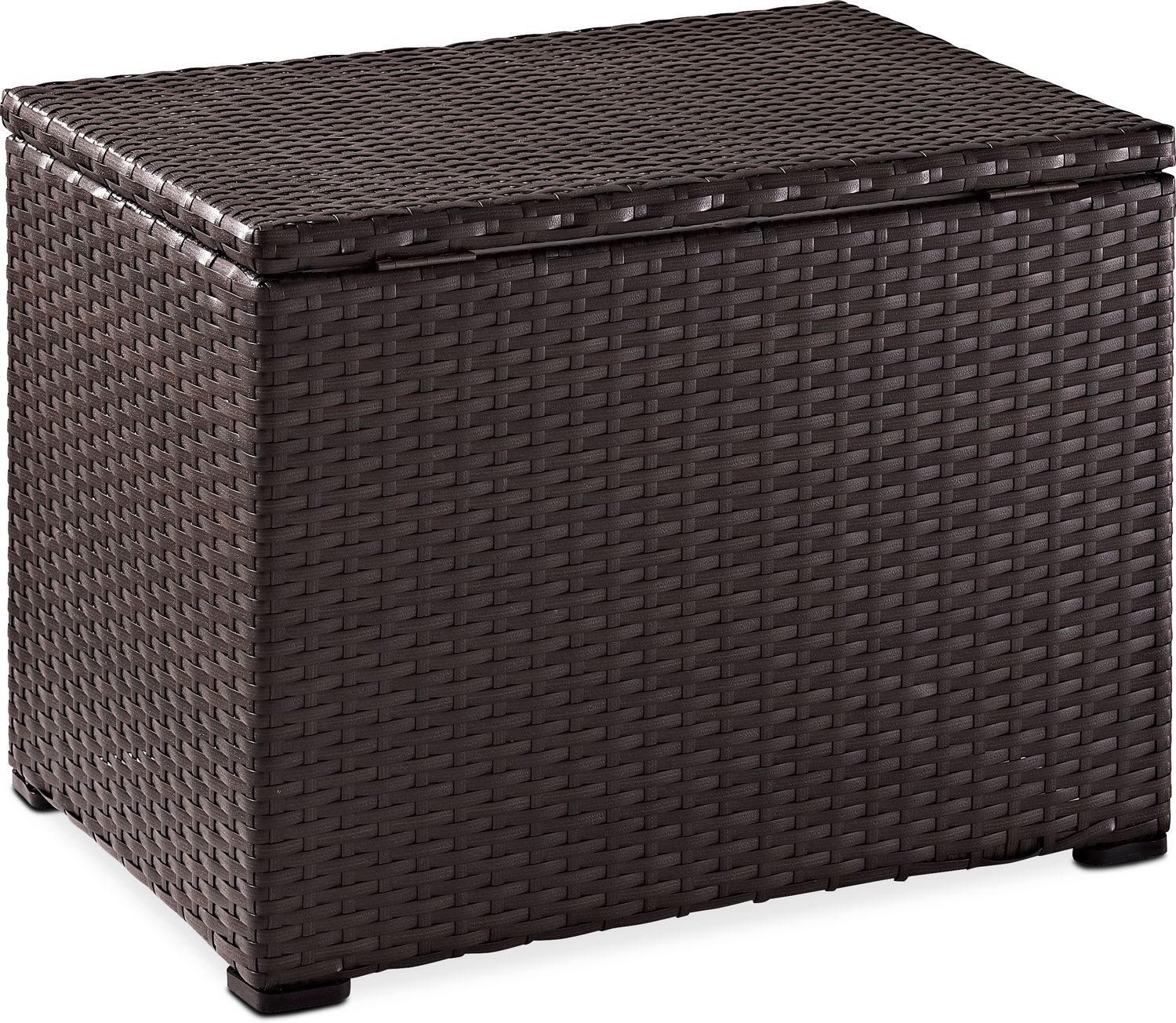 Outdoor Furniture - Aldo Outdoor Cooler - Brown