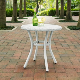 Aldo Outdoor Café Table - White