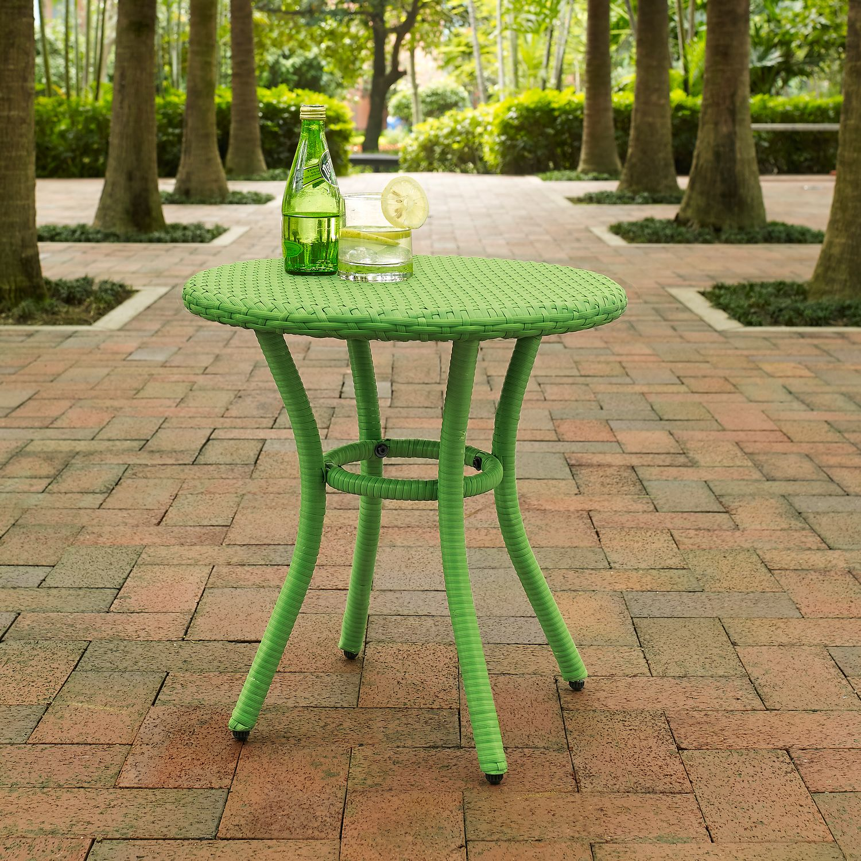 Aldo Outdoor Caf Table Green American Signature Furniture