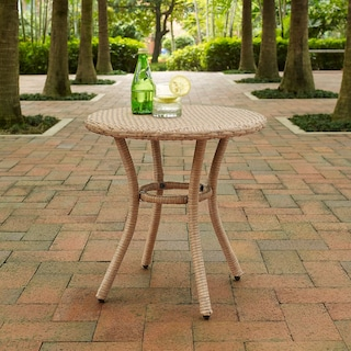 Aldo Outdoor Café Table - Light Brown