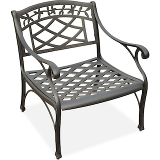 Hana Outdoor Chair - Black