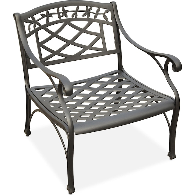 Outdoor Furniture - Hana Outdoor Chair - Black