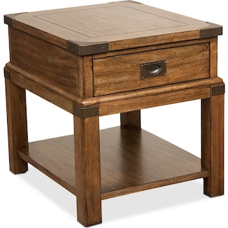 Explorer End Table - Chestnut