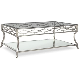 Galleria Coffee Table - Chrome